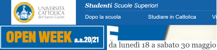 OpenDayCattolica